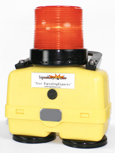 Strobe Battery Powered Magnetic Base 7402