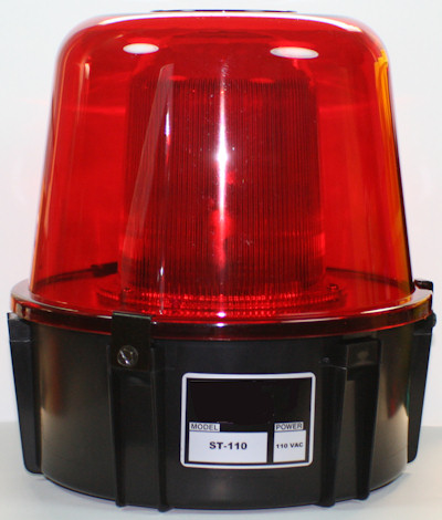 Strobe Light Smooth Exterior Dome ST1