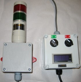 Andon Light and Horn with Switches and Timer